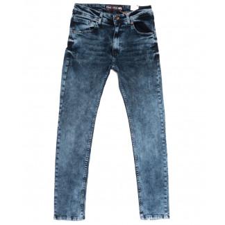 6692 Redcode джинсы мужские с царапками синие весенние стрейчевые (29-36, 8 ед.) Redcode: артикул 1105523