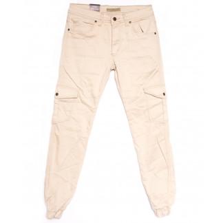 4012 Blue Nil джинсы мужские на резинке бежевые весенние стрейчевые (29-36, 8 ед.) Blue Nil: артикул 1105525