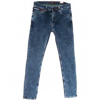 6728 Redcode джинсы мужские полубатальные синие весенние стрейчевые (32-40, 8 ед.) Redcode: артикул 1105529