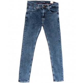 6729 Destry джинсы мужские полубатальные синие весенние стрейчевые (32-40, 8 ед.) Destry: артикул 1105531