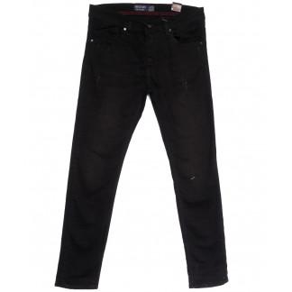6486 Destry джинсы мужские полубатальные серые весенние стрейчевые (32-40, 8 ед.) Destry: артикул 1105532