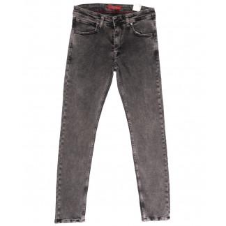 6718 Blue Nil джинсы мужские полубатальные серые весенние стрейчевые (32-40, 8 ед.) Redcode: артикул 1105534