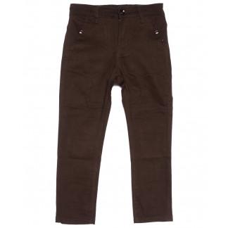 3002-T Vitions брюки на мальчика коричневые весенние стрейчевые (4-14, 6 ед.) Vitions: артикул 1105544