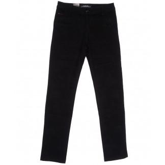 3027 LS брюки мужские черные весенние стрейчевые (29-38, 8 ед.) LS: артикул 1105547