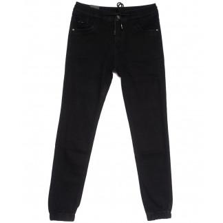 5004-А Vitions джинсы мужские молодежные на резинке черные весенние стрейчевые (28-36, 8 ед.) Vitions: артикул 1105553