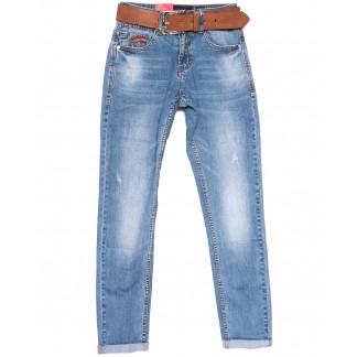 9759 Resalsa джинсы мужские молодежные с царапками синие весенние стрейчевые (27-33, 7 ед.) Resalsa: артикул 1105582