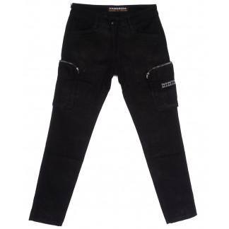 2113 Fangsida джинсы мужские молодежные черные весенние стрейчевые (28-34, 8 ед.) Fangsida: артикул 1105593