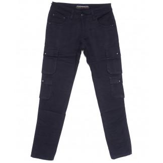 2111 Fangsida джинсы мужские молодежные темно-синие весенние стрейчевые (27-34, 8 ед.) Fangsida: артикул 1105594