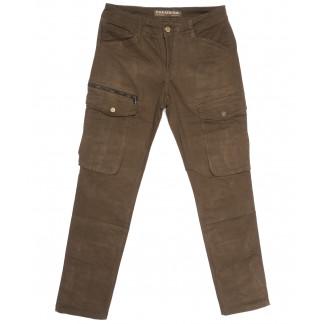 2135 Fangsida брюки карго мужские коричневые весенние стрейчевые (31-38, 8 ед.) Fangsida: артикул 1105600