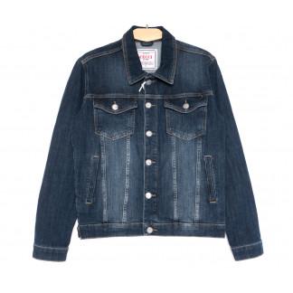 4606 Gecce куртка джинсовая мужская синяя весенняя стрейчевая (S-ХХL, 6 ед.) Gecce: артикул 1105620