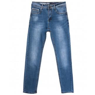 0503 Baron джинсы мужские синие весенние стрейчевые (29-38, 8 ед.) Baron: артикул 1105690