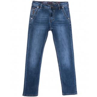 9322 Baron джинсы мужские полубатальные синие весенние стрейчевые (32-38, 8 ед.) Baron: артикул 1105692