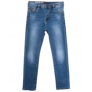 0507 Baron джинсы мужские полубатальные синие весенние стрейчевые (33-38, 8 ед.) Baron: артикул 1105694