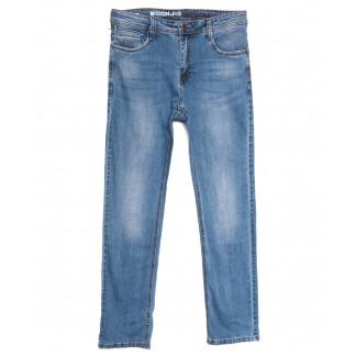 0506 Baron джинсы мужские полубатальные синие весенние стрейчевые (33-38, 8 ед.) Baron: артикул 1105695
