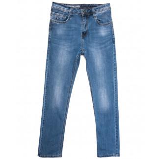 0508 Baron джинсы мужские полубатальные синие весенние стрейчевые (32-40, 8 ед.) Baron: артикул 1105700