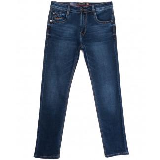 9328 Baron джинсы мужские полубатальные синие весенние стрейчевые (32-40, 8 ед.) Baron: артикул 1105701