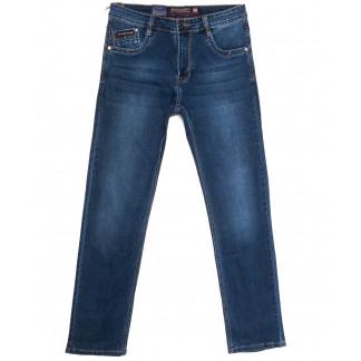 9343 Baron джинсы мужские полубатальные синие весенние стрейчевые (33-38, 8 ед.) Baron: артикул 1105703