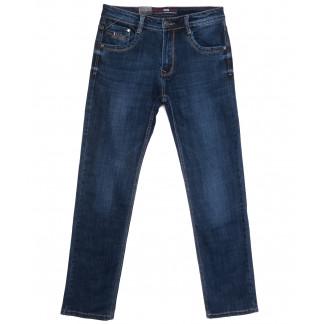 9222 Baron джинсы мужские полубатальные синие весенние стрейчевые (32-38, 8 ед.) Baron: артикул 1105708