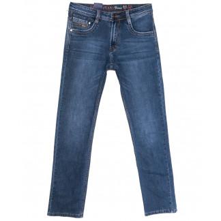 9320 Baron джинсы мужские полубатальные синие весенние стрейчевые (32-38, 8 ед.) Baron: артикул 1105726