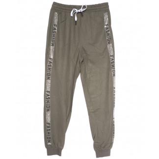 2378 хаки Saint Wish брюки женские спортивные весенние стрейчевые (M-3XL, 5 ед.) Saint Wish: артикул 1105779