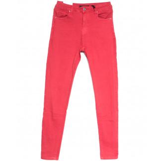 9042-9 Saint Wish джинсы женские зауженные красные весенние стрейчевые (25-30, 6 ед.) Saint Wish: артикул 1105792