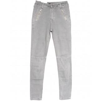 9080-4 серые Saint Wish брюки женские стильные весенние стрейчевые (25-30, 6 ед.) Saint Wish: артикул 1105796