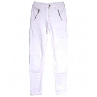 9080-2 белые Saint Wish брюки женские стильные весенние стрейчевые (25-30, 6 ед.) Saint Wish: артикул 1105798