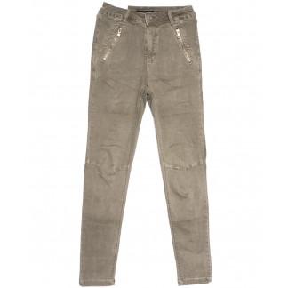 9080-11 хаки Saint Wish брюки женские стильные весенние стрейчевые (25-30, 6 ед.) Saint Wish: артикул 1105800
