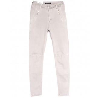 9080-8 серые Saint Wish брюки женские стильные весенние стрейчевые (25-30, 6 ед.) Saint Wish: артикул 1105802