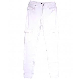 9079-2 белые Saint Wish джинсы женские с боковыми карманами полубатальные весенние стрейчевые (28-33, 6 ед.) Saint Wish: артикул 1105803