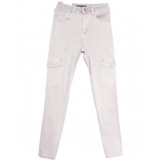 9078-8 серые Saint Wish брюки карго женские весенние стрейчевые (25-30, 6 ед.) Saint Wish: артикул 1105808