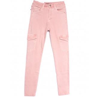 9078-3 розовые Saint Wish брюки карго женские весенние стрейчевые (25-30, 6 ед.) Saint Wish: артикул 1105809