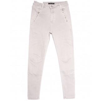 9081-8 серые Saint Wish брюки женские полубатальные весенние стрейчевые (28-33, 6 ед.) Saint Wish: артикул 1105814