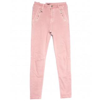 9080-3 розовые Saint Wish брюки женские стильные весенние стрейчевые (25-30, 6 ед.) Saint Wish: артикул 1105820
