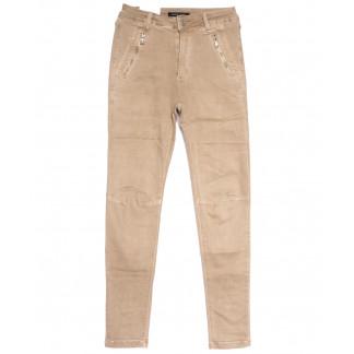 9080-7 бежевые Saint Wish брюки женские стильные весенние стрейчевые (25-30, 6 ед.) Saint Wish: артикул 1105823