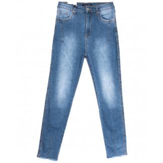 9137 Saint Wish джинсы женские классические полубатальные синие весенние стрейчевые (28-33, 6 ед.) Saint Wish: артикул 1105824