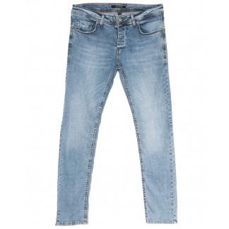 4697 Jack Kevin джинсы мужские синие весенние стрейчевые (29-38, 8 ед.) Jack Kevin: артикул 1105860