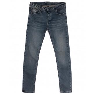 0150 Jack Kevin джинсы мужские синие весенние стрейчевые (29-38, 8 ед.) Jack Kevin: артикул 1105861