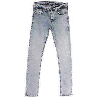 5177 Jack Kevin джинсы мужские синие весенние стрейчевые (29-38, 8 ед.) Jack Kevin: артикул 1105862