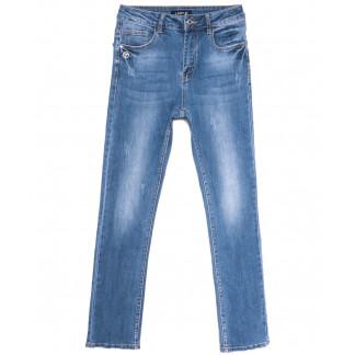 1562 Lady N джинсы женские батальные синие весенние стрейчевые (30-36, 6 ед.) Lady N: артикул 1105872