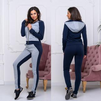 8008-05 серый женский спортивный костюм (42,42,44, 3 ед.) Костюм: артикул 1105896