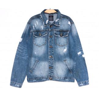 2236-3 А Relucky куртка мужская стильная синяя весенняя стрейчевая (S-XXXL, 6 ед.) Relucky: артикул 1105944