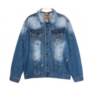 2239-3 R Relucky куртка мужская синяя весенняя стрейчевая (S-XXXL, 6 ед.) Relucky: артикул 1105946
