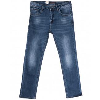 18011 Ferrars джинсы мужские полубатальные синие весенние стрейчевые (32-42, 8 ед.) Feerars: артикул 1105914