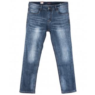 18006 Ferrars джинсы мужские полубатальные синие весенние стрейчевые (32-42, 8 ед.) Feerars: артикул 1105915