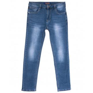8027 Pobeda джинсы мужские полубатальные синие весенние стрейчевые (32-38, 8 ед.) Pobeda: артикул 1105919