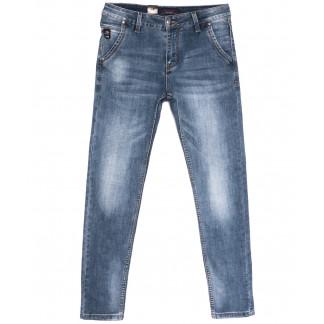 18001 Ferrars джинсы мужские молодежные синие весенние стрейчевые (28-36, 8 ед.) Feerars: артикул 1105923
