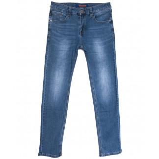 8028 Pobeda джинсы мужские синие весенние стрейчевые (29-38, 8 ед.) Pobeda: артикул 1105924