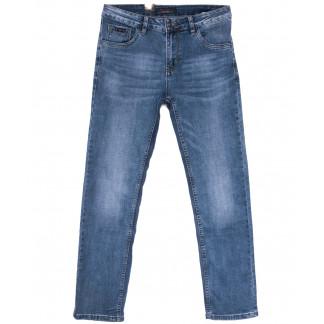 18005 Ferrars джинсы мужские полубатальные синие весенние стрейчевые (32-38, 8 ед.) Feerars: артикул 1105925