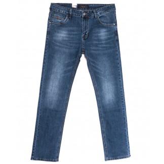 18008 Ferrars джинсы мужские полубатальные синие весенние стрейчевые (32-38, 8 ед.) Feerars: артикул 1105926